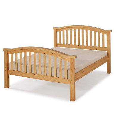 Ascot Pine Bed – Light Antique