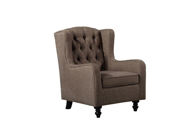Accent Snug Chair - Brown