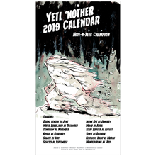 Load image into Gallery viewer, Yeti 'Nother 2019 Calendar