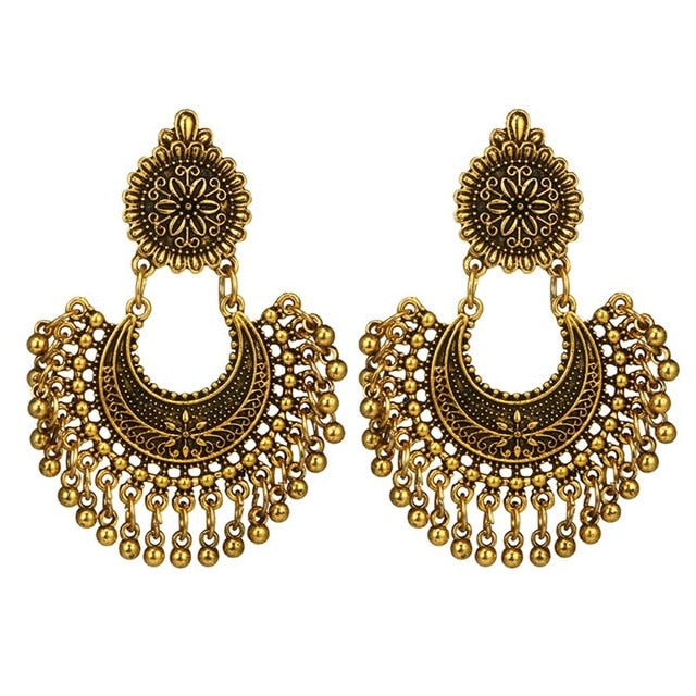 Brincos de jóias de bollywood indiano [The Best Online Ethnic Ethnic Shop] - Unusual Trendy