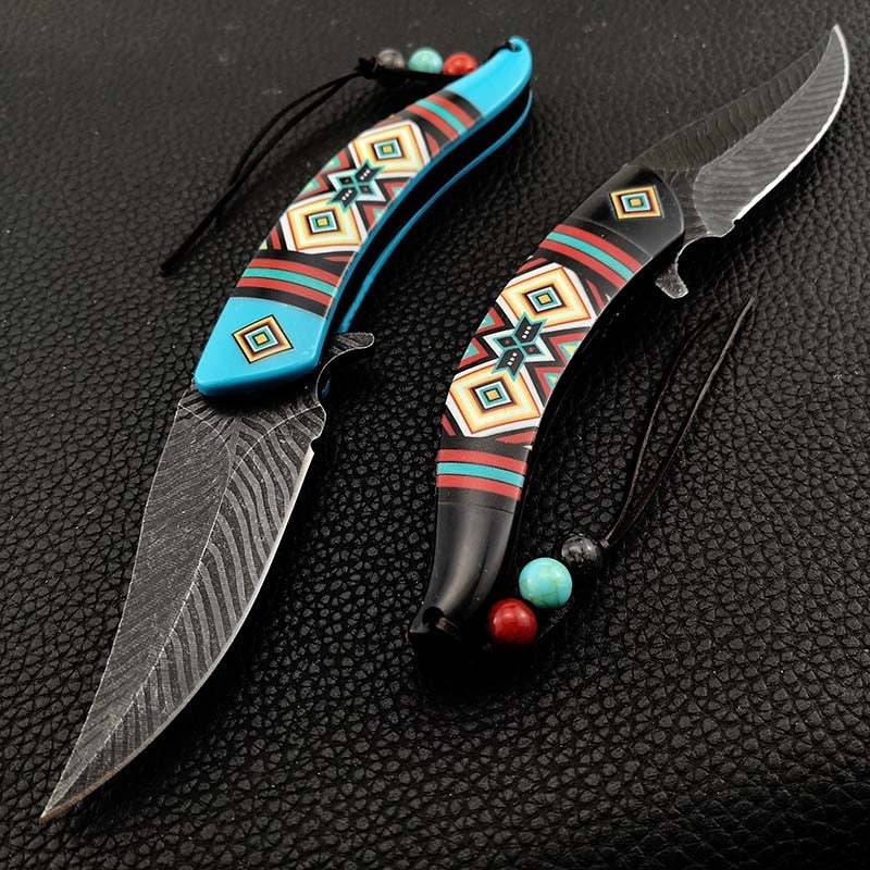 Native America Knife Fold Blade Collector [The Best Affordable Online Ethnic Shop] - Unusual Trendy unusual christmas gifts