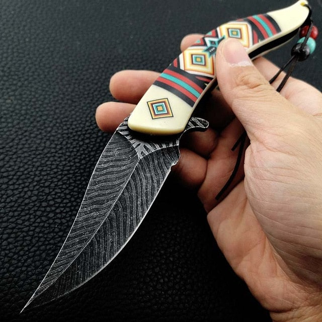 Native America Knife Fold Blade Collector [The Best Affordable Online Ethnic Shop] - Unusual Trendy