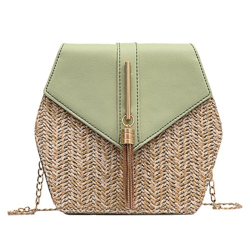 Boho bags Straw summer beach