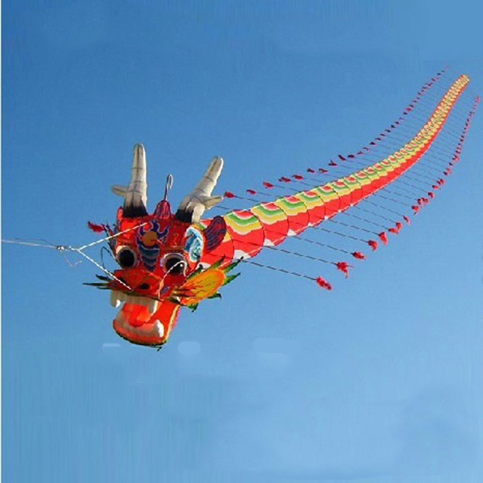 Dragon chinois Seven Meters Nouvel an