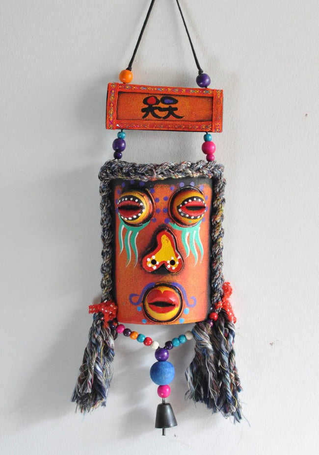Chinese Regional Ethnic colorful masks