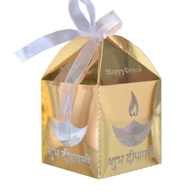 Happy Diwali Indian festival gift box 50pcs regali insoliti
