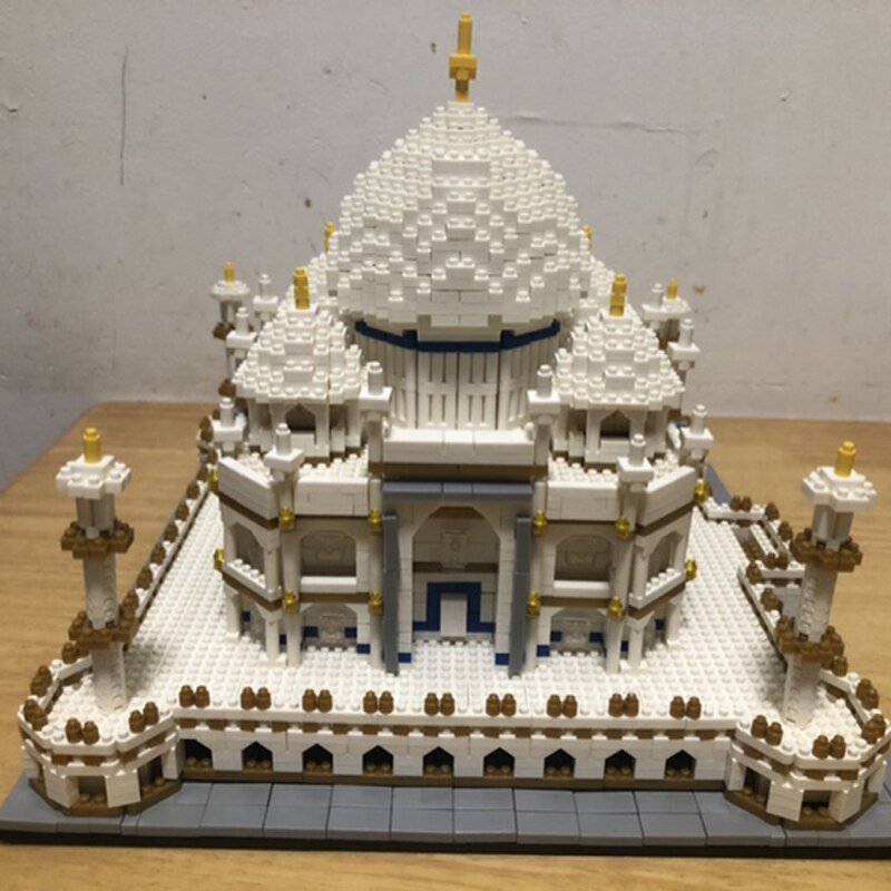 Taj Mahal 3D model DIY lego unique gift ideas