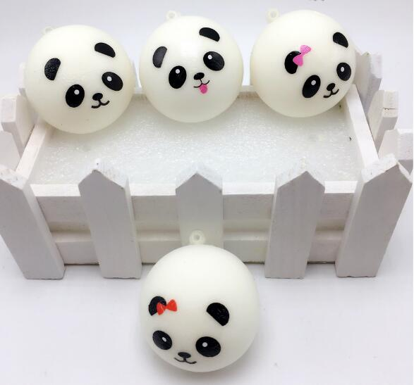 Balle anti-stress Squishy Panda Bun