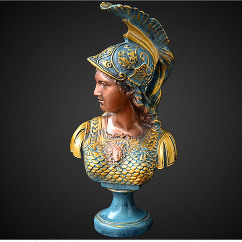 Greek Athena Statue Head Sculpture