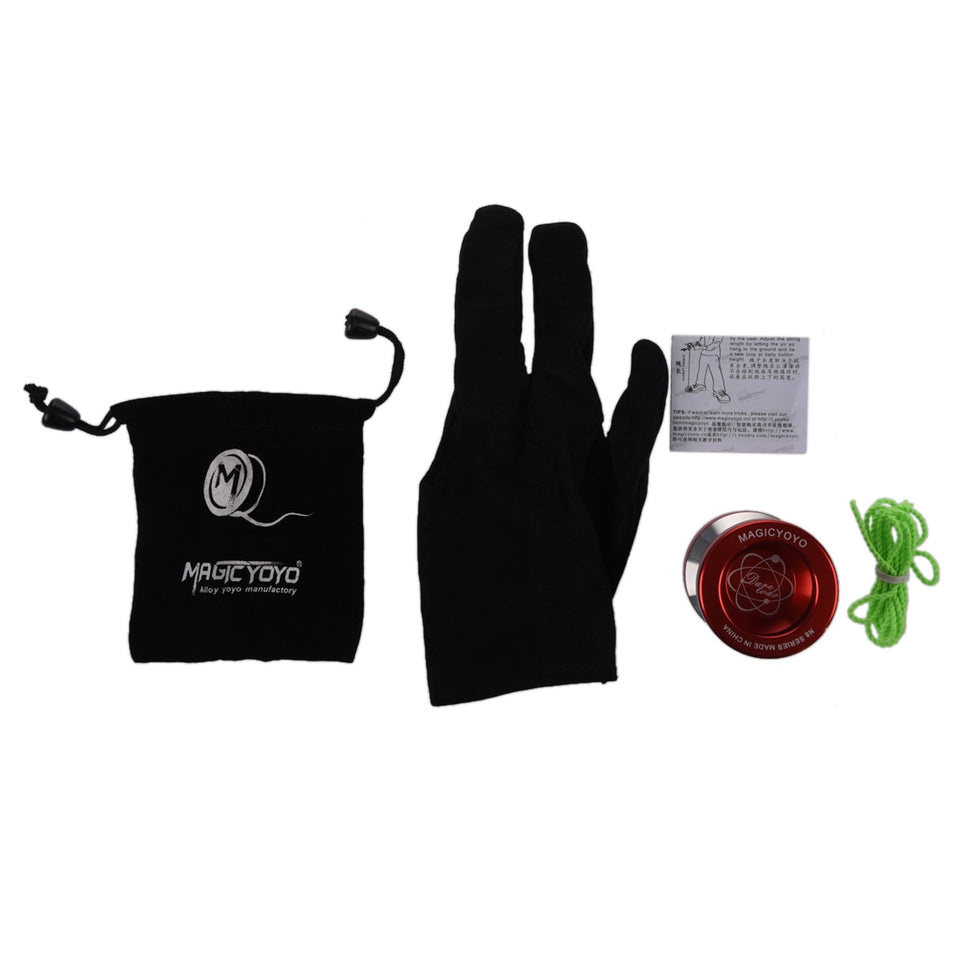 Magic Professional YoYo + Cuerda + Bolsa + Guante