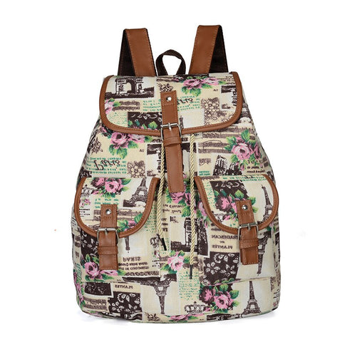 Boho backpack cotton hippie