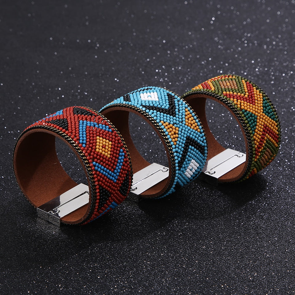 Braccialetto bangle nativo americano azteco