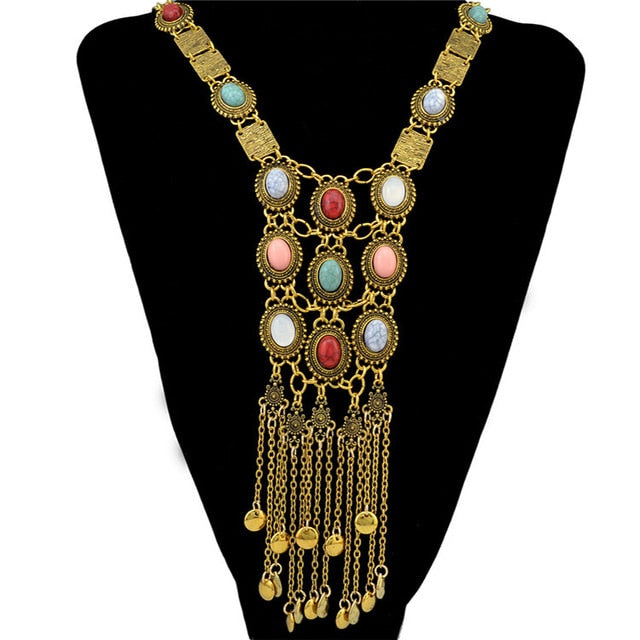 Bohemian necklaces antique jewelry