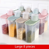 Food Storage Box Plastic Container Kitchen Storage Bottles