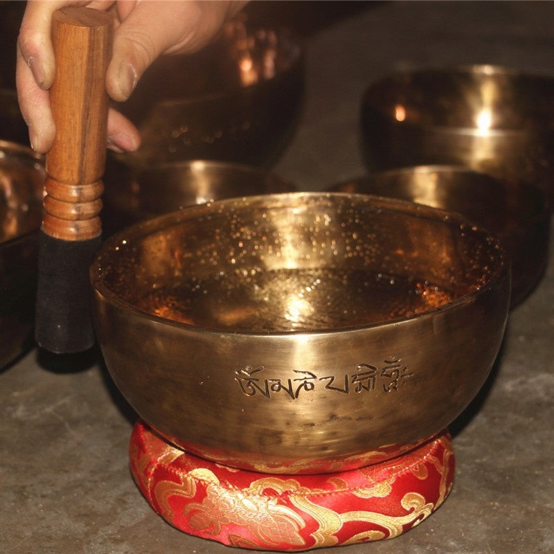 Tibetan singing bowl Full Moon meditation