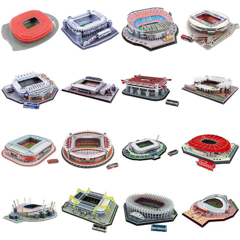 3D Jigsaw Puzzle Football Stadium