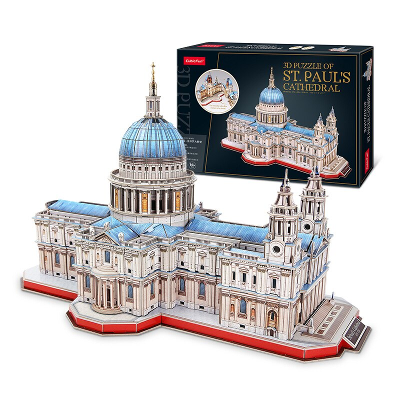 Adult Creative Jigsaw Building Cathedral