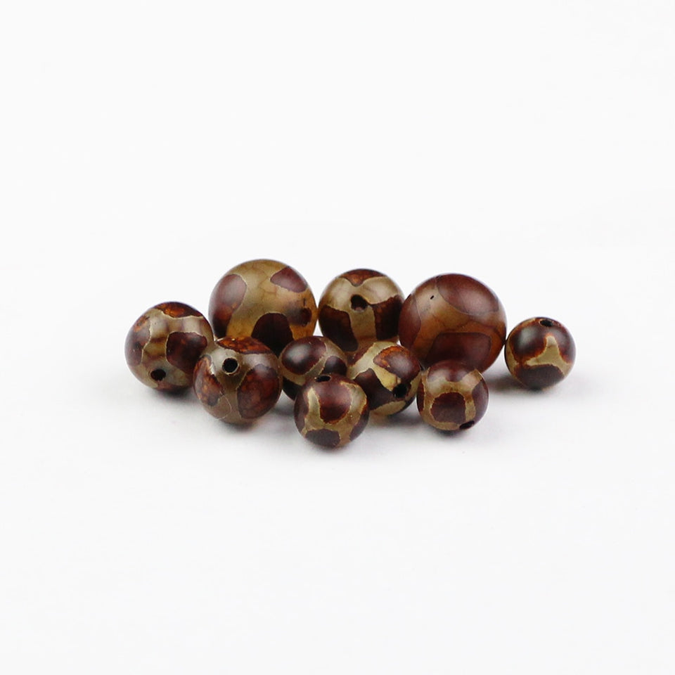 Tortoise shell Stone Natural Carnelian beads DIY
