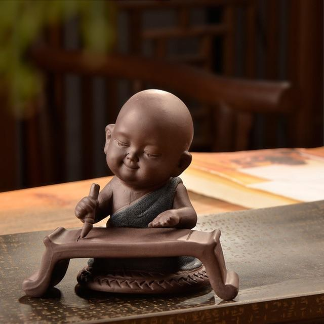 Feng shui Buddha statue ceramic decoration [The Best Affordable Online Ethnic Shop] - Unusual Trendy