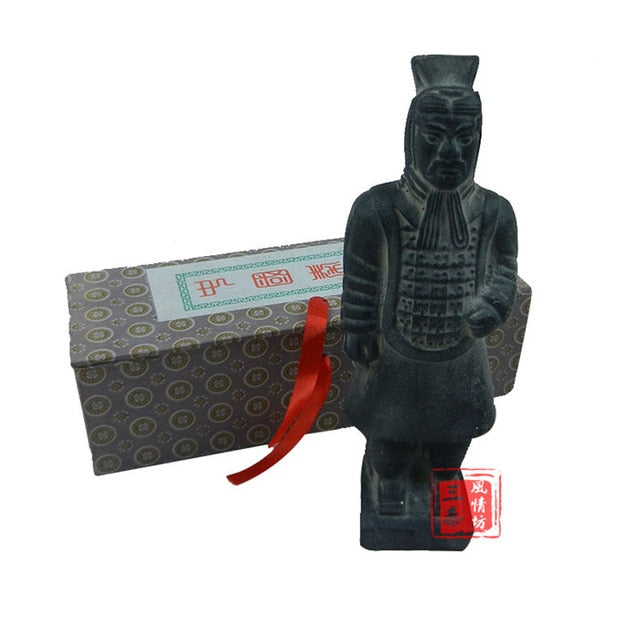 Qin Terracotta Army Warriors decoration statue gifts for birthday