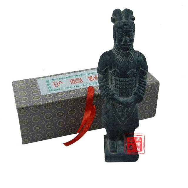 Qin Terracotta Army Warriors decoration statue gifts for dad