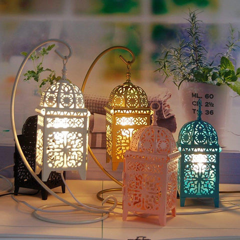 Marokkanische Lichter Nachttisch [The Best Affordable Online Ethnic Shop] - Unusual Trendy