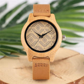 Unique Wooden Boho watch Style