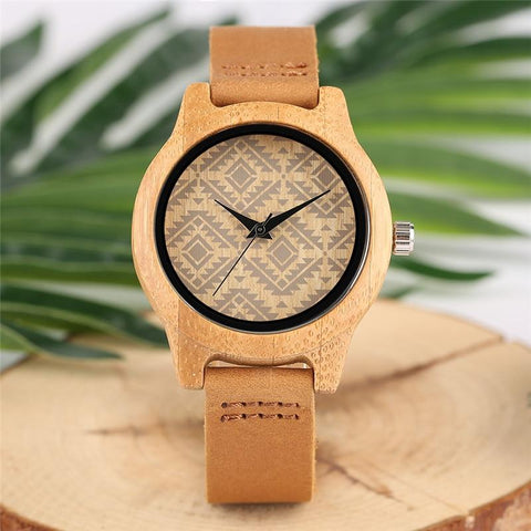Unique Wooden watches Boho chic Style [The Best Affordable Online Ethnic Shop] - Unusual Trendy