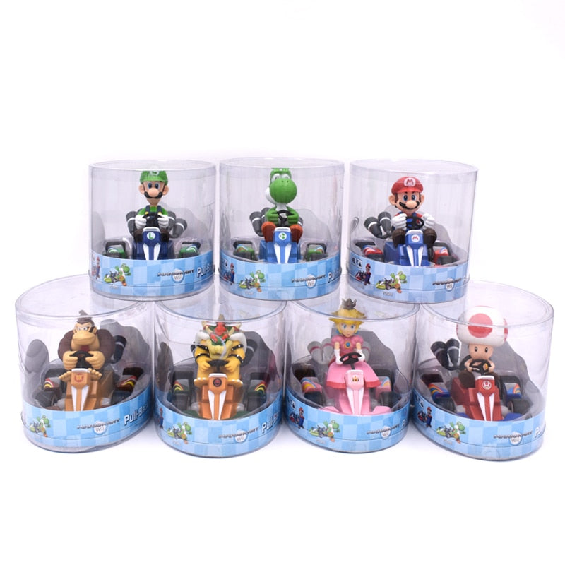 Super Mario Bros Figures Hot Toys for Boys
