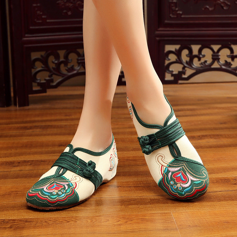 Chaussures asiatiques traditionnelles style Beijing