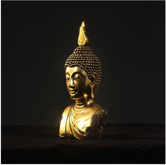 Thai Bodhisattva Statue Craft Resin [The Best Affordable Online Ethnic Shop] - Unusual Trendy