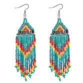 Ethnic Jewelry Boho Chic Tassel Drop Earrings