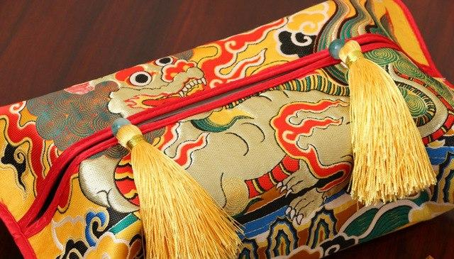Ethnic Kirin Patterns Wallet Chinese style [The Best Affordable Online Ethnic Shop] - Unusual Trendy