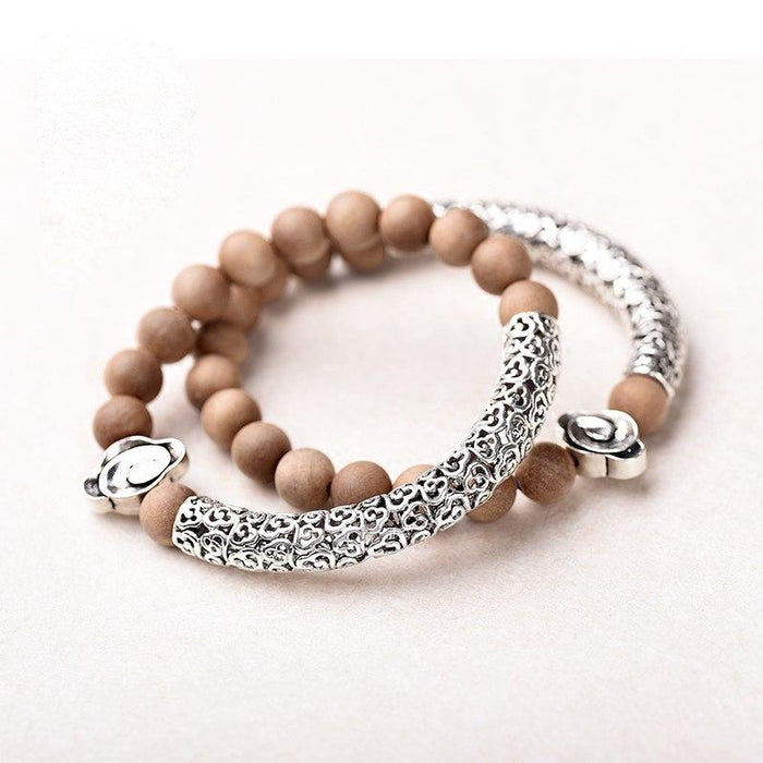 India Silver Bracelet handmade [The Best Affordable Online Ethnic Shop] - Unusual Trendy