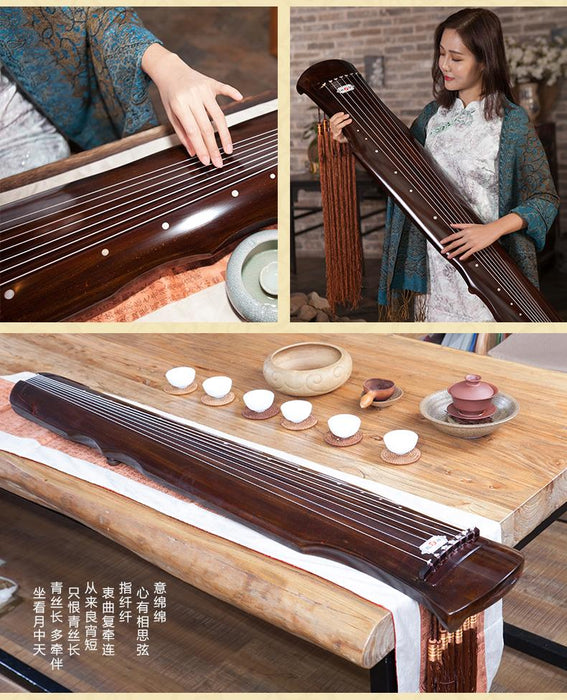 Chinese Instrument sound of Guqin Fuxi-type [The Best Affordable Online Ethnic Shop] - Unusual Trendy