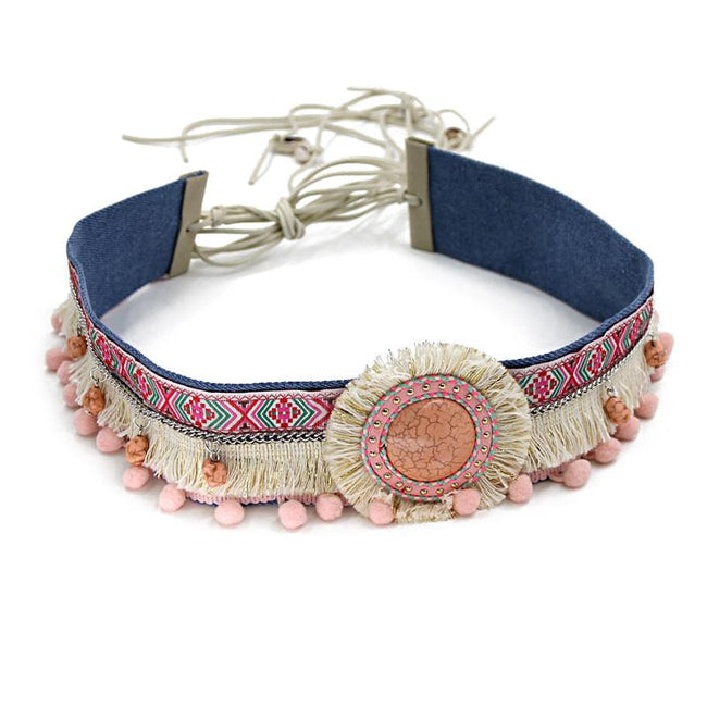 Bohemian Belt Handmade Clothing Accessories [The Best Affordable Online Ethnic Shop] - Unusual Trendy