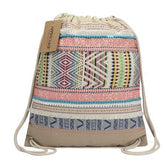 Design Backpack Ethnic Style