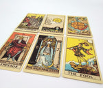 Tarot deck old-fashioned color centennial cards game [The Best Affordable Online Ethnic Shop] - Unusual Trendy