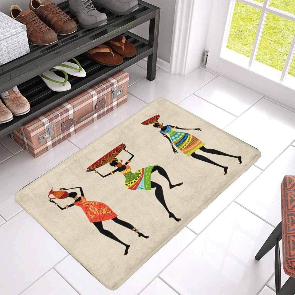 African doormat Women Home Indoor Entrance [The Best Affordable Online Ethnic Shop] - Unusual Trendy