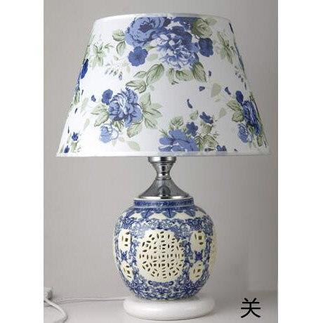Chinese table lamp ceramic light [The Best Affordable Online Ethnic Shop] - Unusual Trendy