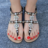 Beach shoes comfortable Boho sandals