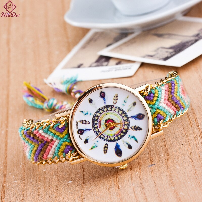 Boho Watch Ethnic Dreamcatcher Богемный хиппи шик