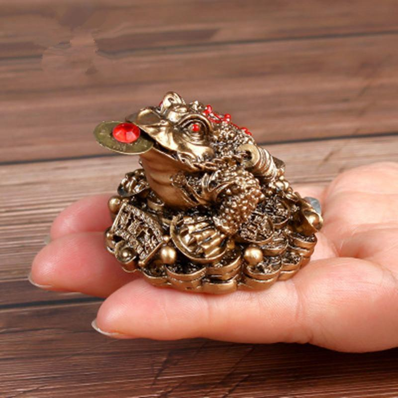 Feng shui money frog chinese fortune [The Best Affordable Online Ethnic Shop] - Unusual Trendy