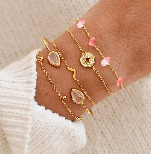 Bohemian Charm Boho Armband [The Best Affordable Online Ethnic Shop] - Unusual Trendy