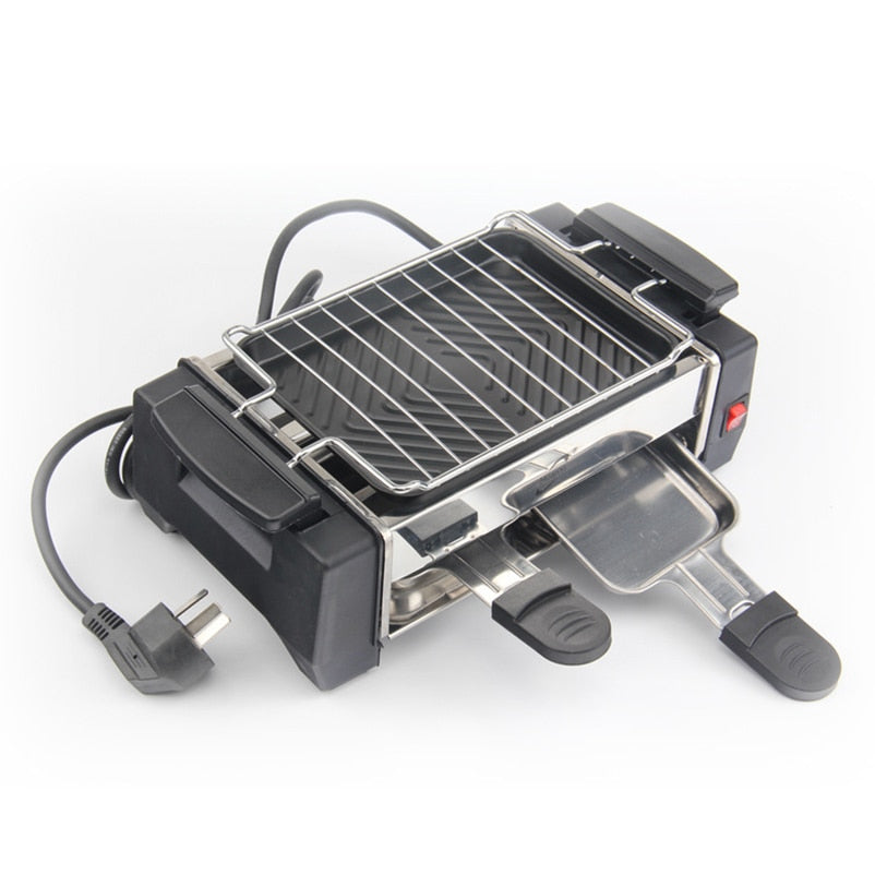Electric french Raclette Grill 2 to 4 Person 220V [The Best Affordable Online Ethnic Shop] - Unusual Trendy