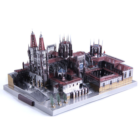 Burgos Cathedral DIY 3D metal Jigsaw puzzle adult Gift