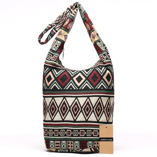 Retro Handbag Gypsy Boho Chic Aztec Patterns [The Best Affordable Online Ethnic Shop] - Unusual Trendy