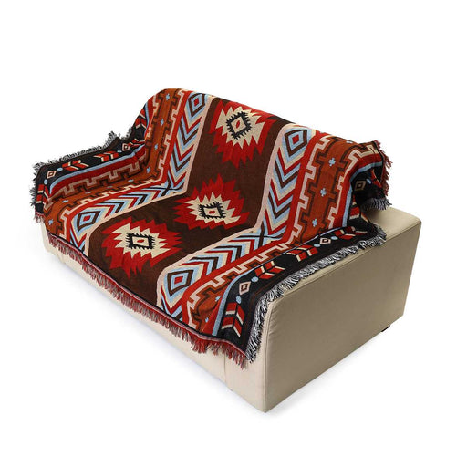 Aztec blanket geometric Native American [The Best Affordable Online Ethnic Shop] - Unusual Trendy