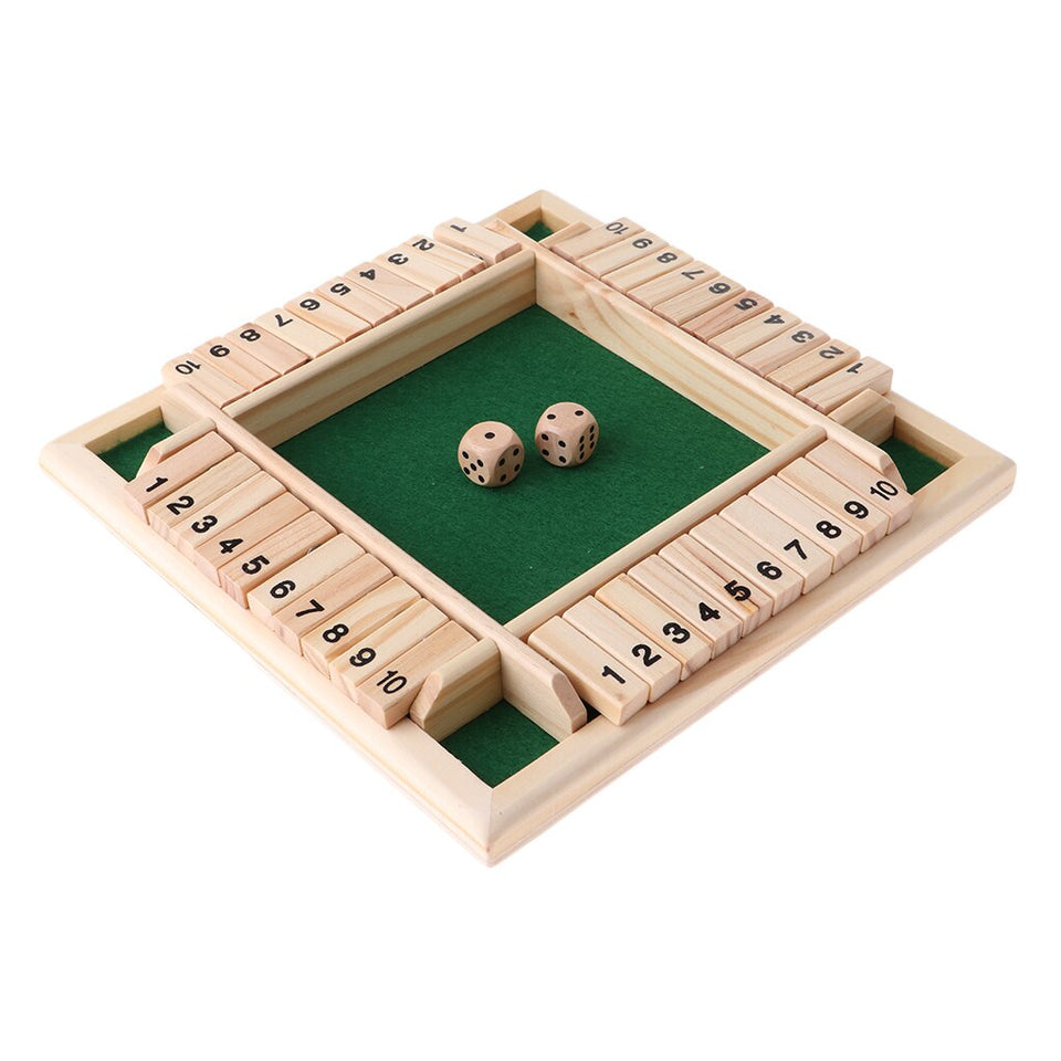 Shut The Box Jeu traditionnel anglais
