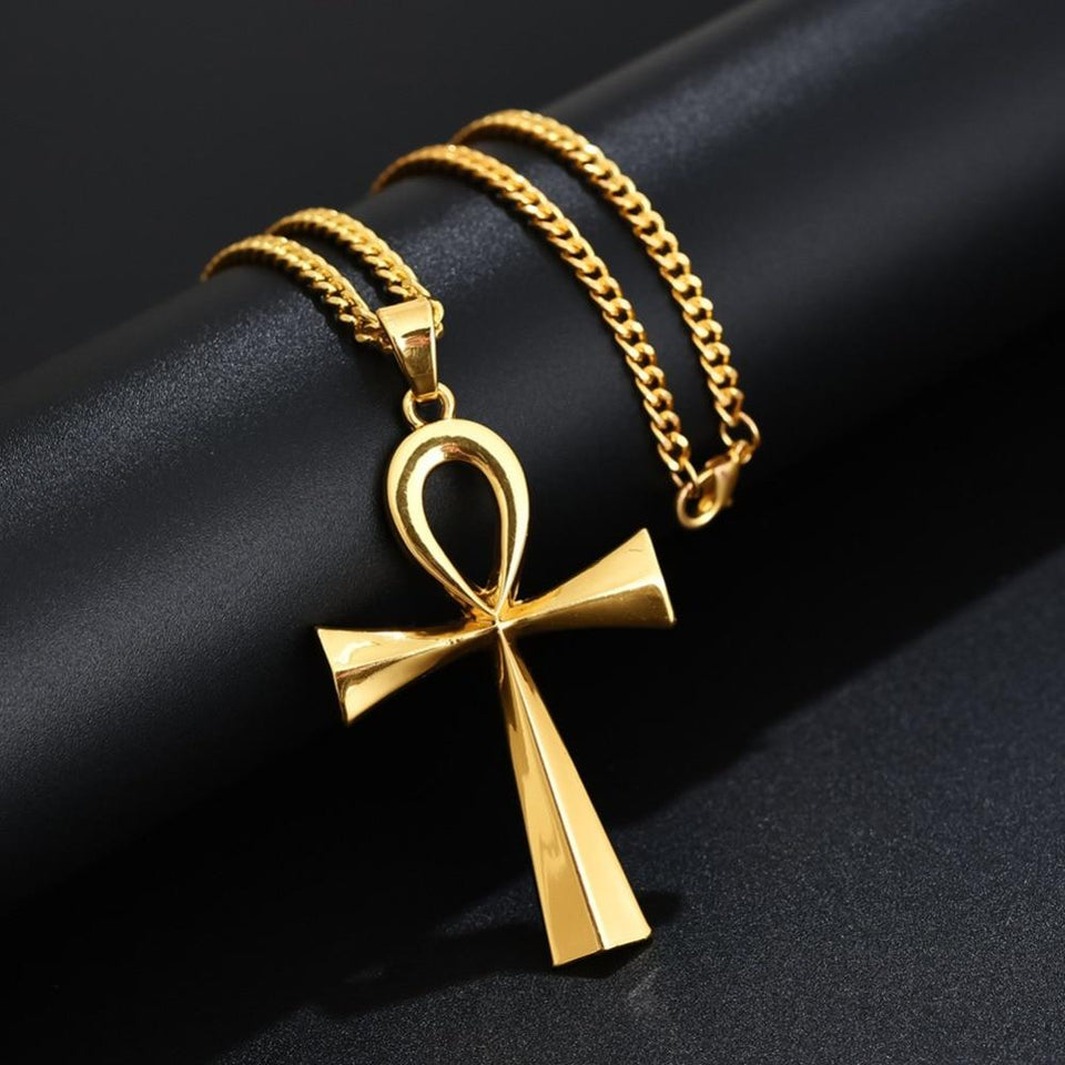 Egypt Ankh Pendant Necklace [The Best Affordable Online Ethnic Shop] - Unusual Trendy